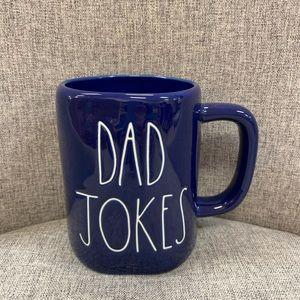 rae sunn dad jokes blue mug